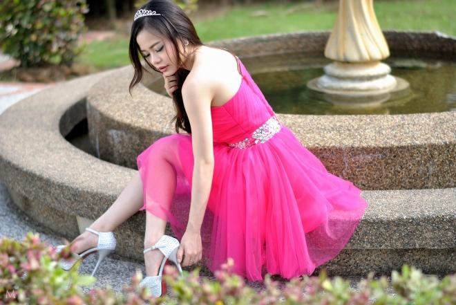 amanda, pink lilies