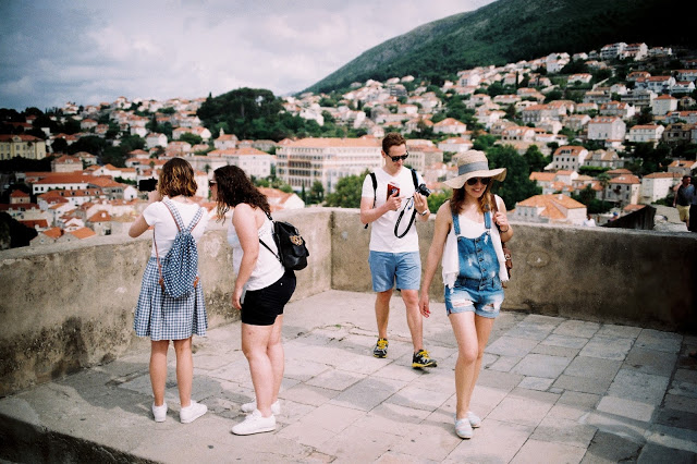 dubrovnik travel with film leica