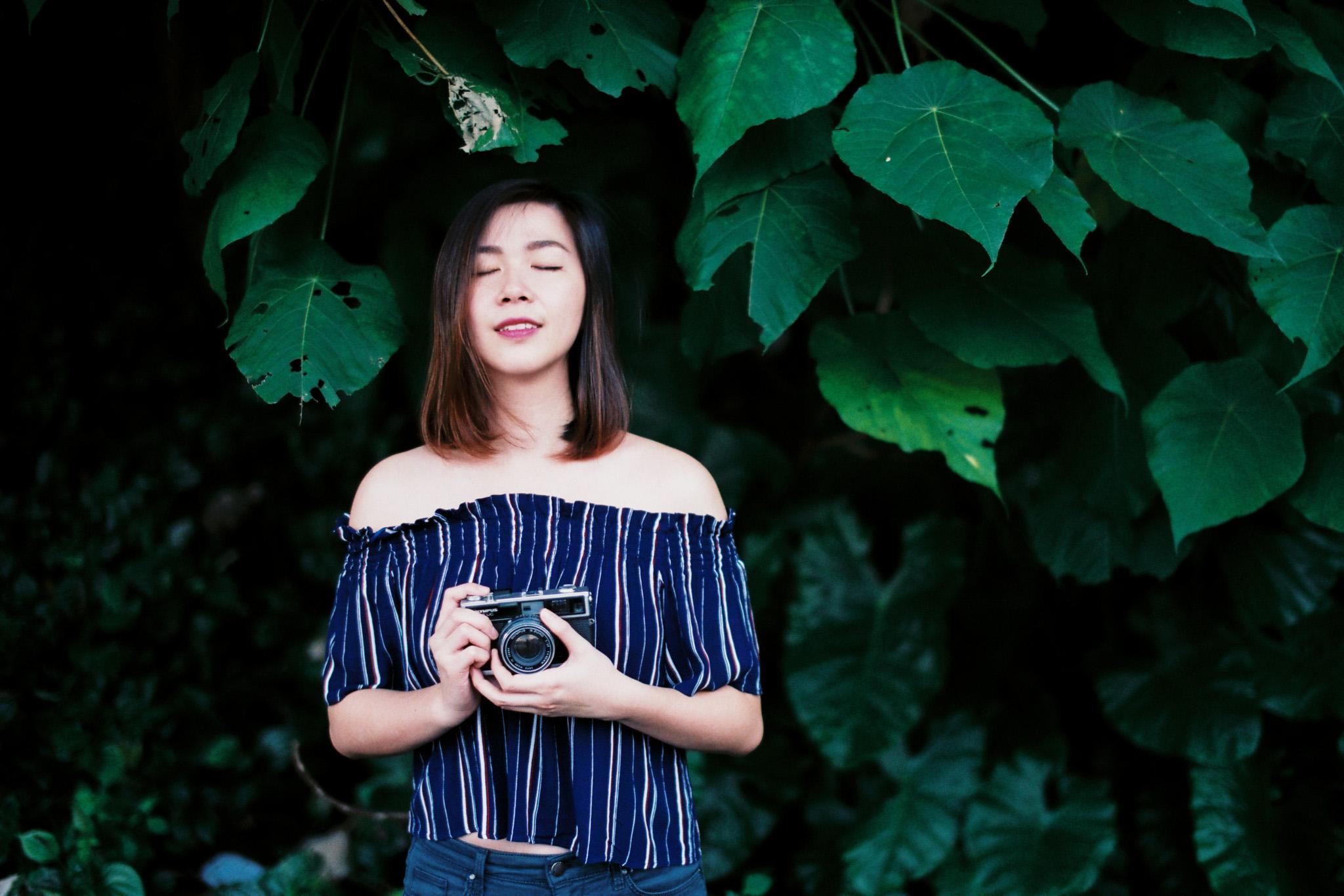 best outdoor film portraits