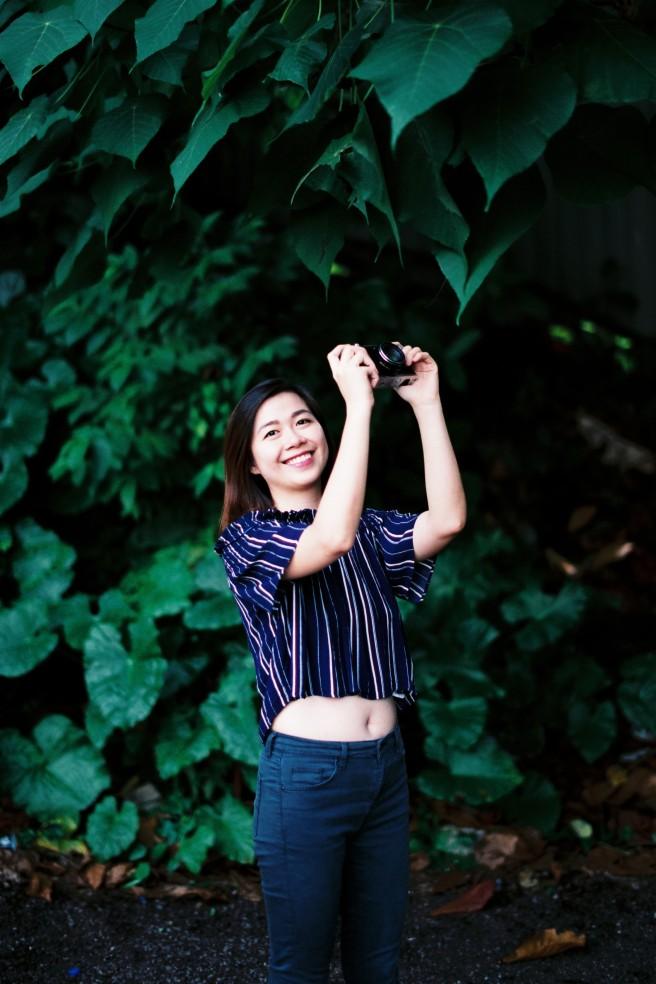 outdoor film portraits fuji premium 400