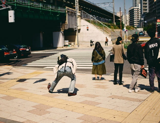 Tokyo street photography guide, street performers