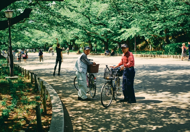 Veterans guide on street photography, yoyogi