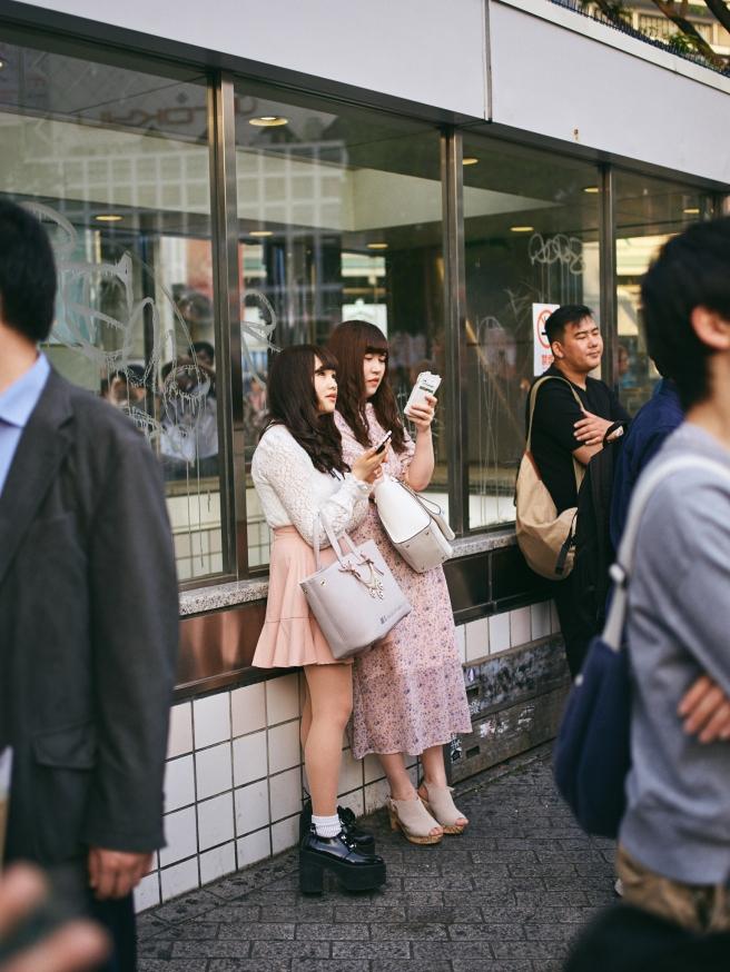 Tokyo street photography , dolls