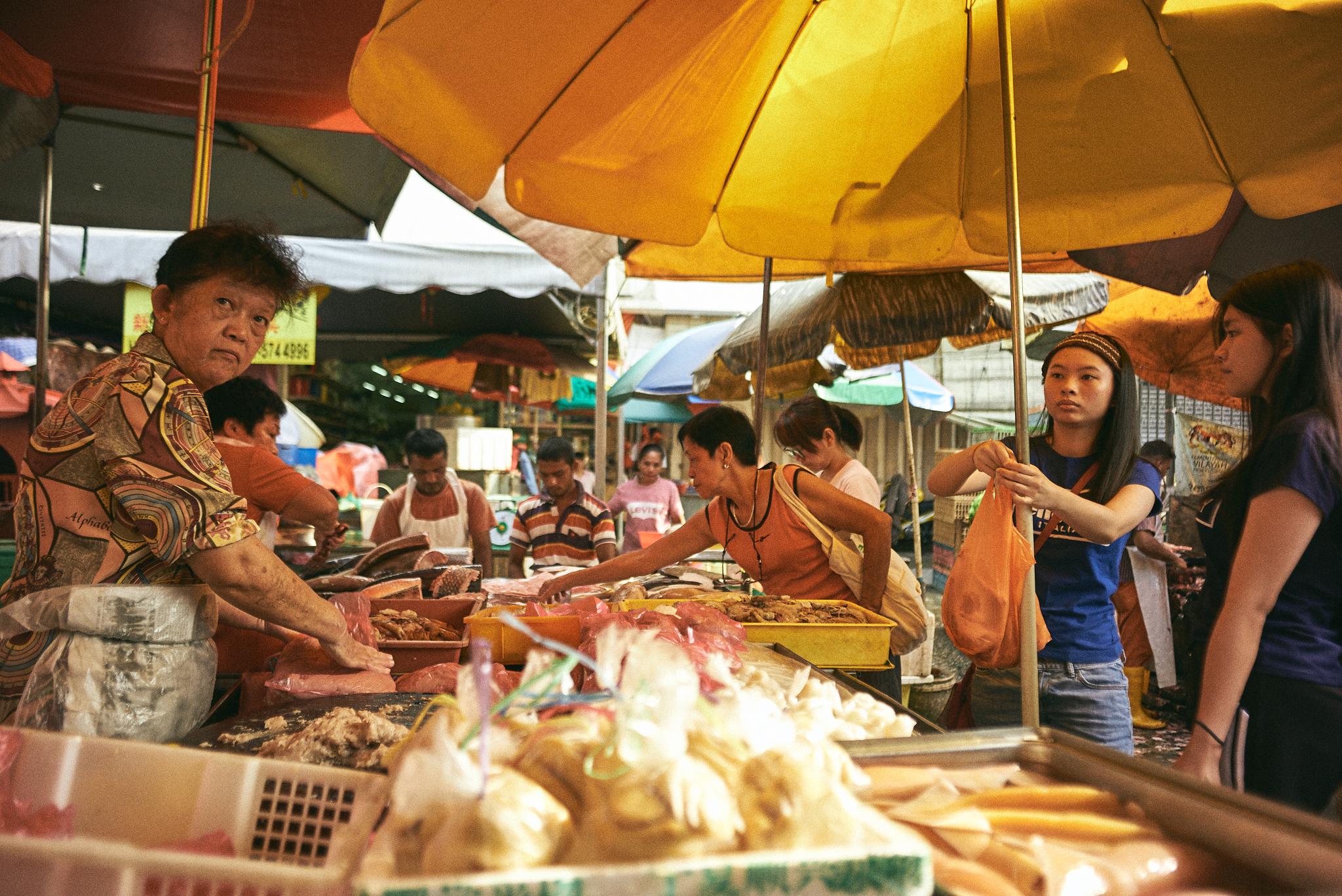 kuala lumpur street photography, seafood