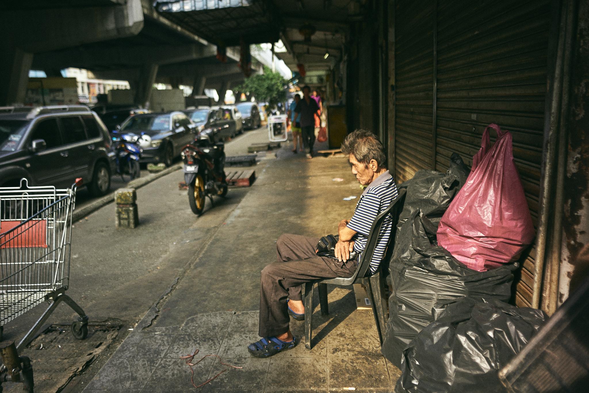 kuala lumpur street photography, durian