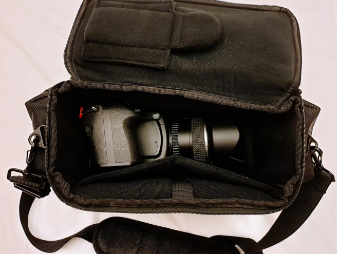 Pentax 645Z with one lens